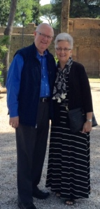 Daniel and Susan Segraves in Rome on June 22, 2016
